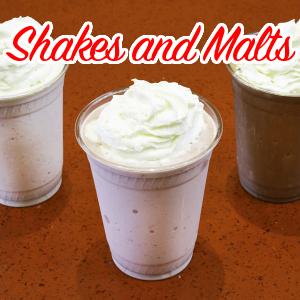 Shakes and Malts